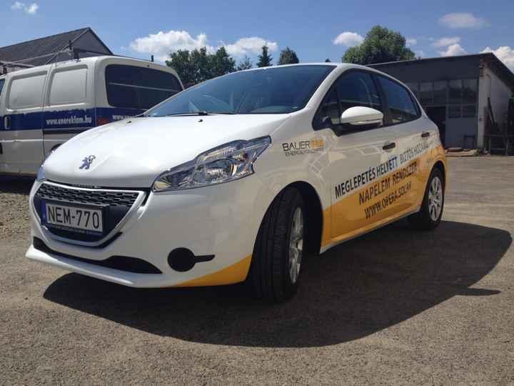 autódekorálás opera solar